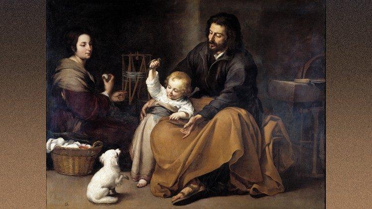 São José com Jesus e Maria