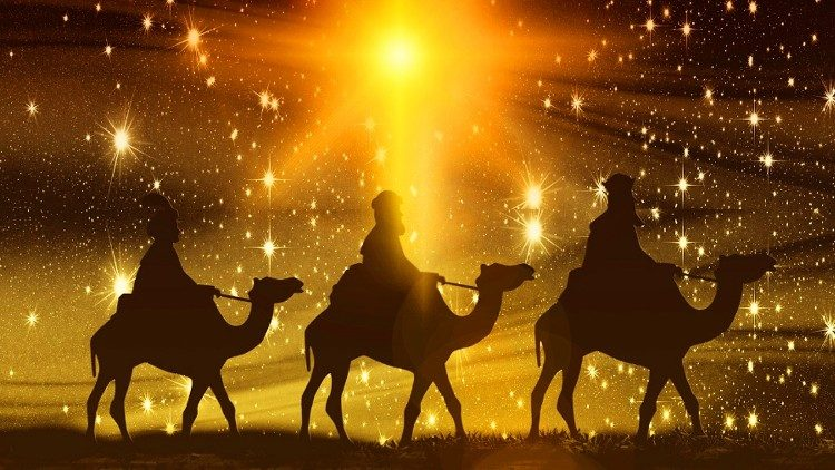 """6 de janeiro, Solenidade da Epifania do Senhor ou """"Dia de Reis"""", a festa dos Reis Magos"""