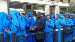 Nigerian Sisters of the Immaculate Heart of Mary Mother of Christ during the Jubilee Year of Mercy