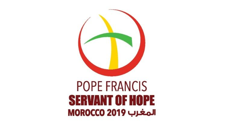 Official logo of Pope Francis' visit to Morocco
