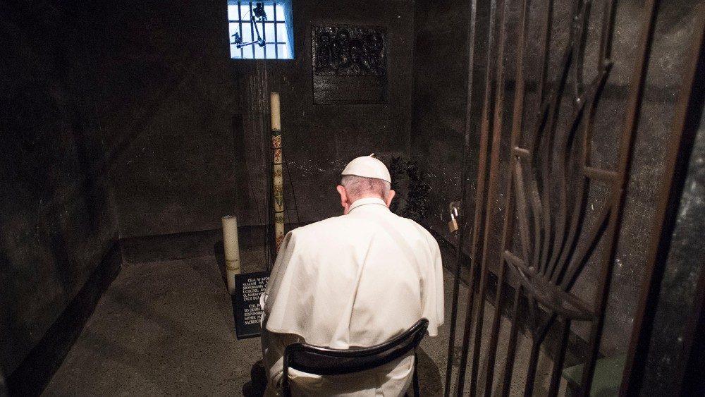 Papa, en Auschwitz