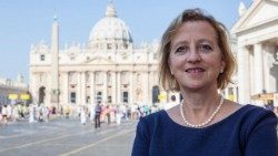 Sally Axworthy, the British Ambassador to the Holy See