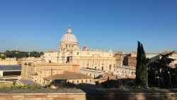 A view of St. Peter's Basilica