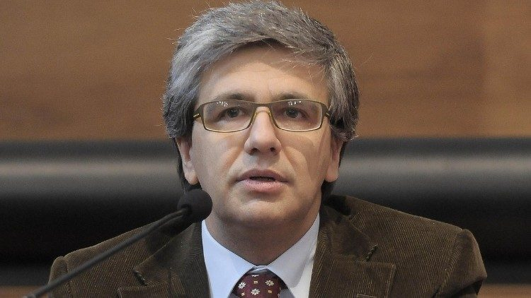 Andrea Tornielli, the Chief Editor of Vatican media