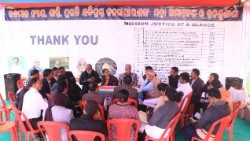 The Jan. 12 meeting in Raikia, Odisha, India.