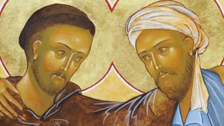 2019.01.15 San Francesco d'Assisi e il Sultano d'Egitto AL-Kamil nell'anno 1219