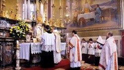Celebration of Mass according to the extraordinary form of the Roman Rite