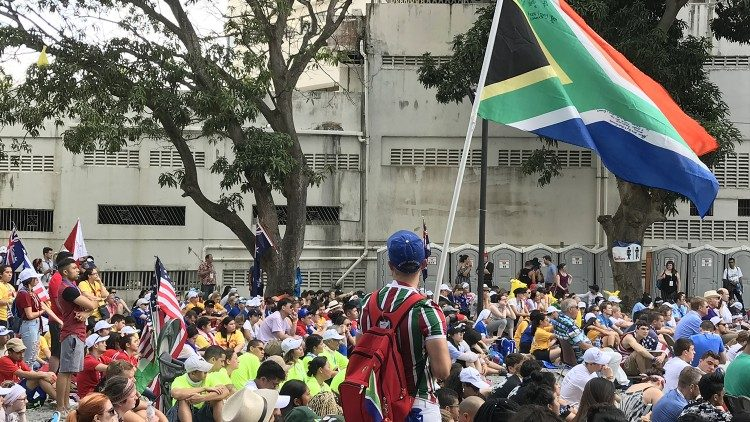South African pilgrims in Panama