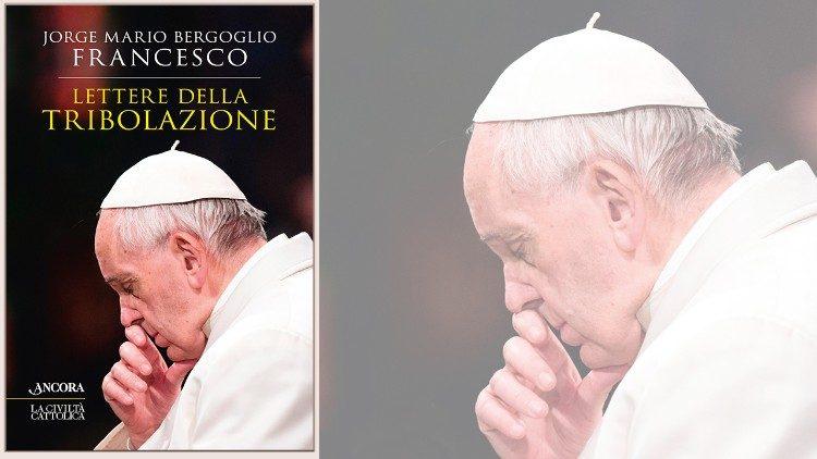 """Capa do livro """"Cartas da tribulação"""" do cardeal Jorge Mario Bergoglio"""