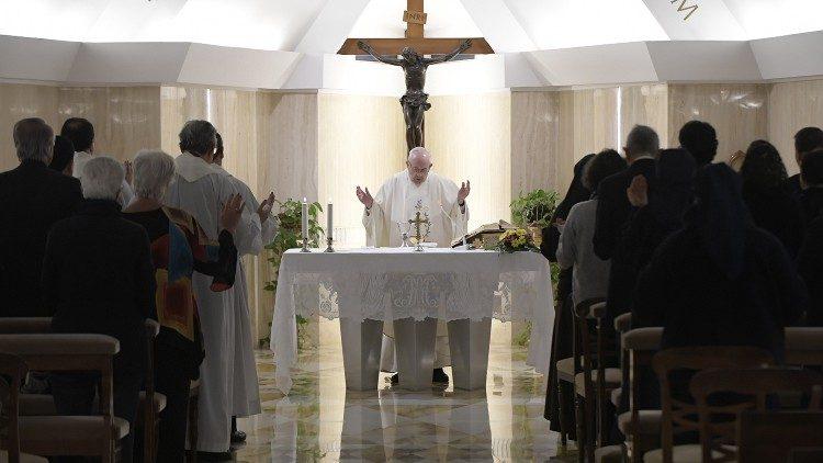 2019.01.31  Messa Santa Marta