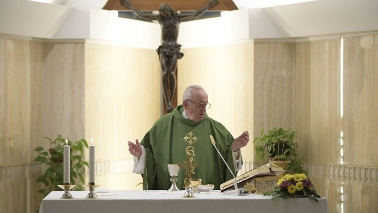 2019.02.01 Messa Santa Marta Papa Francesco