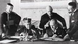 Il y a 90 ans, la signature des Accords du Latran