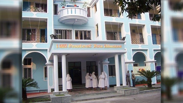 St. Joseph's Home for the Aged, Kolkata, run by the Little Sisters of the Poor.