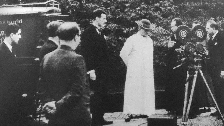 Papa Pío XI archivo Constituido el Archivo Editorial Multimedia del Dicasterio para la Comunicación