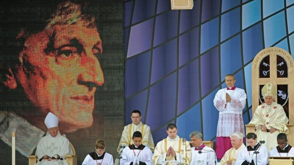 Beatification of Cardinal Newman by Pope Benedict XVI