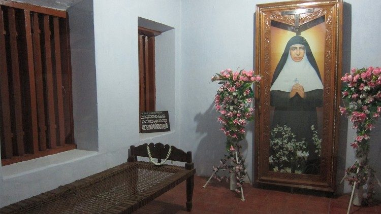 The house of Blessed Mariam Teresia in Puthenchira, Kerala