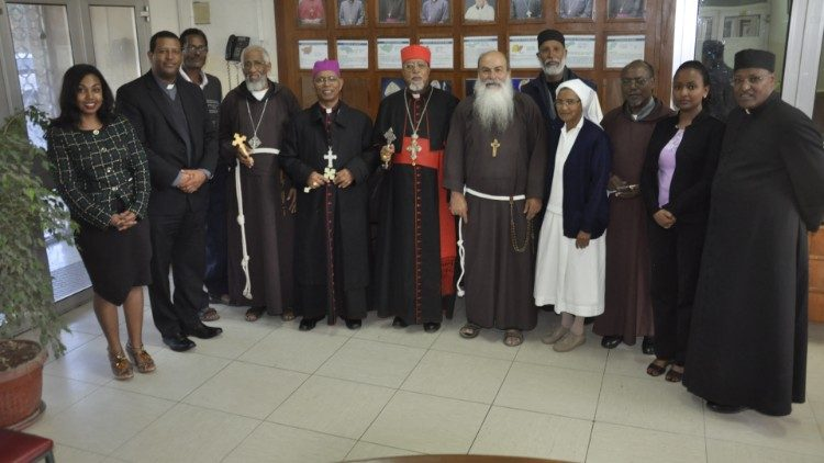 2019.02.14 The Arch Bishope of Asmara has Visited Ethiopia