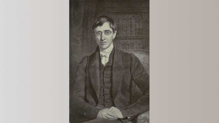 Cardinal Newman in his younger days.