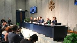 Press Conference in the Holy See Press Office giving details of the meeting on the protection of minors