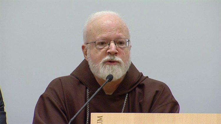 Le cardinal Sean Patrick O'Malley, président de la Commission pontificale pour la protection des mineurs.