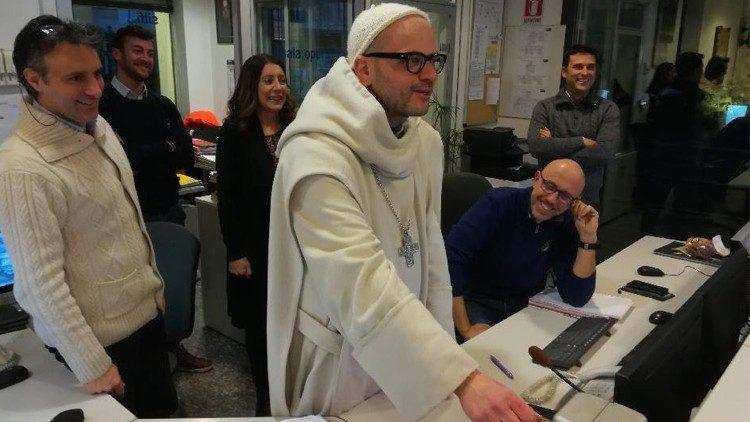 Viện phụ Bernardo Gianni, giảng thuyết viên tuần tĩnh tâm năm 2019 cho ĐTC và giáo triều Roma