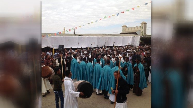 Liturgical feast in Eritrea