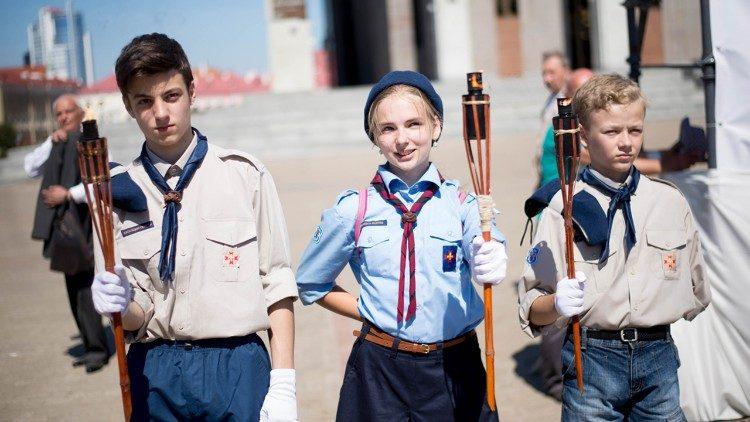 2019.03.12 scouts di Europa, esploratori e guide, adolescenti, ragazzi