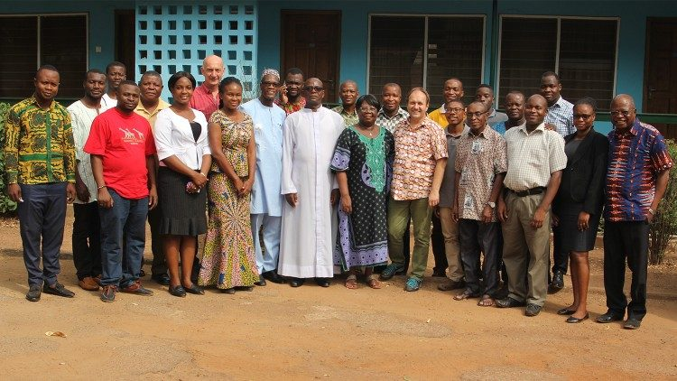 Participants and Resource Persons of the Ghana Caritas E-Waste Managment workshop