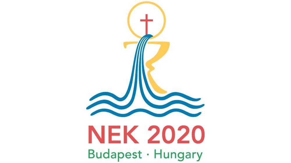 2019.03.16 logo congresso eucaristico internazionale 2020 International Eucharistic congress 2020 Budapest Ungheria, Hungary