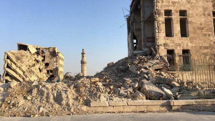 Siria ataques aéreos Damasco Monseñor Tobji