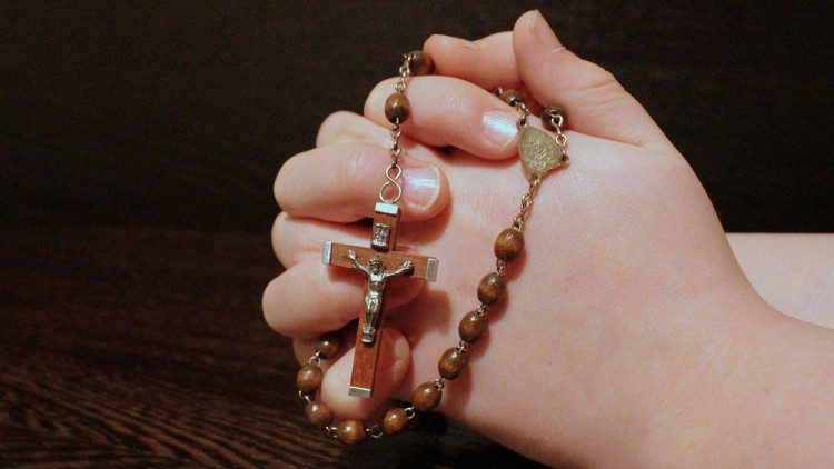 The rosary.