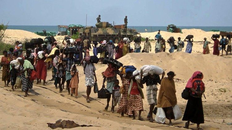 migrants fleeing drought and famine in sub-Saharan Africa