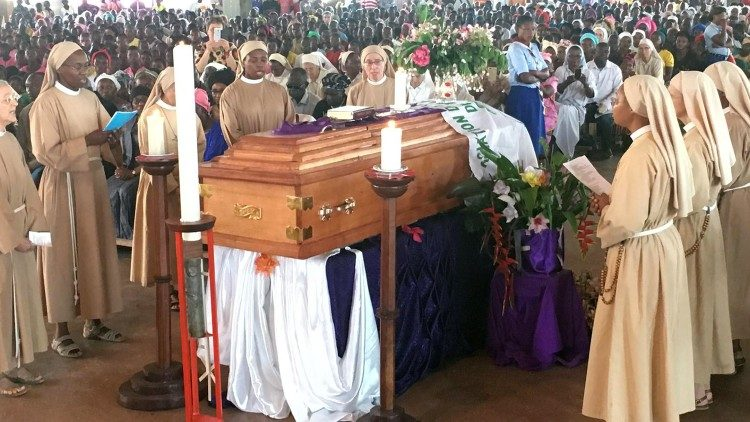 Funeral of Fr. Toussaint Zoumaldé of the Republic of Central Africa