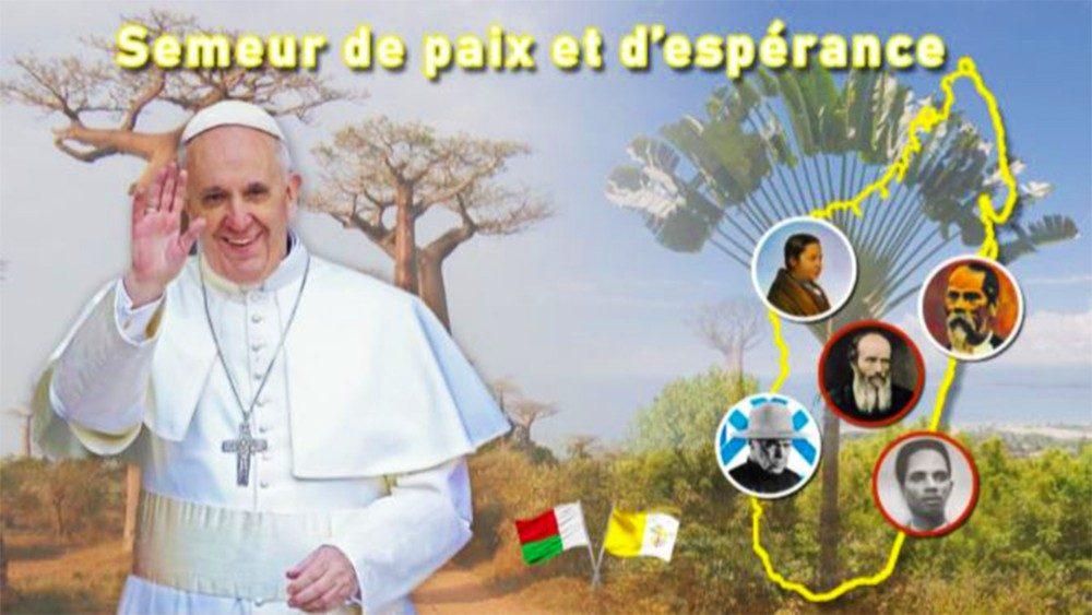 Visita del Papa a Madagascar