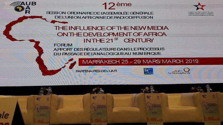 Thư mời hội nghị lần thứ 12 của Liên hiệp các đài truyền thanh Châu Phi