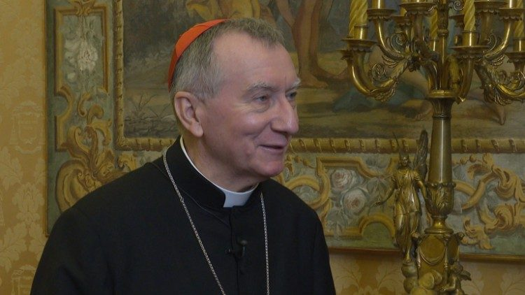 Cardeal Pietro Parolin, secretário de Estado do Vaticano