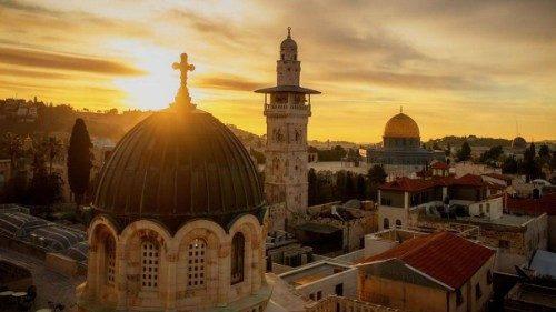 """Terra Santa, Voltaggio: i cristiani chiamati a essere """"mediatori"""" di riconciliazione"""