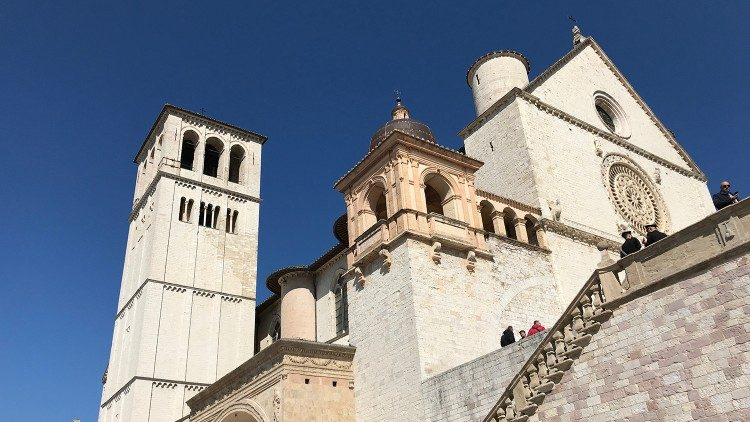 The Basilica of Saint Francis in Assisi