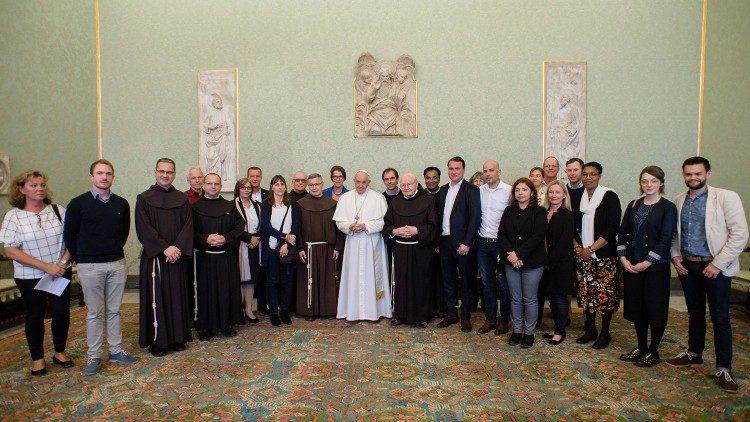 ĐTC tiếp Trung tâm Truyền giáo Phanxicô ở Đức
