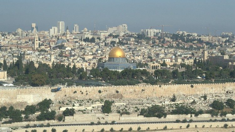 A view of the city of Jerusalem.
