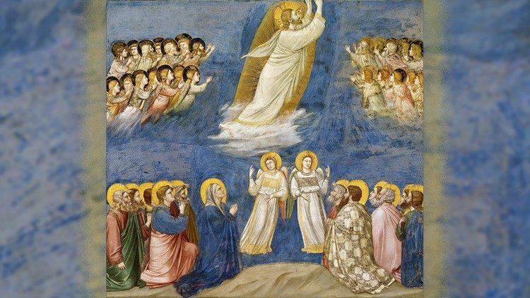 Ascensão do Senhor, Giotto, Capela degli Scrovegni
