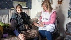 Caritas Bulgaria helping the elderly