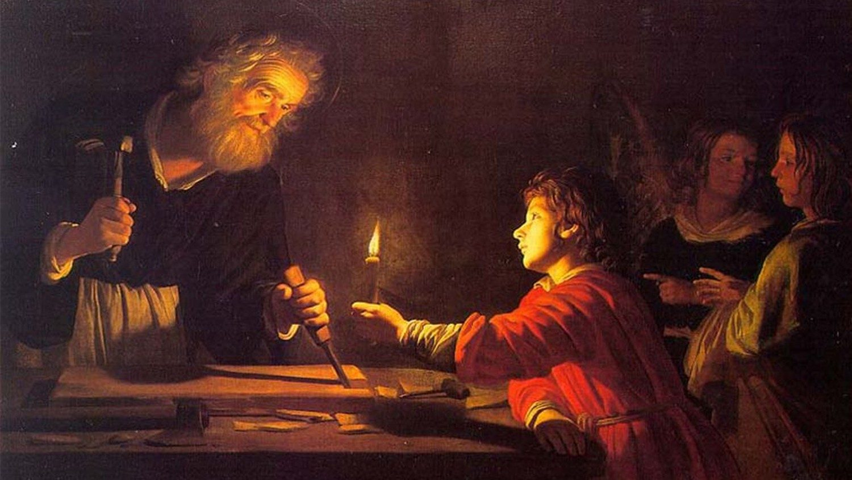 Enséñanos, san José, a hacer cosas grandes siendo el segundo o… el tercero