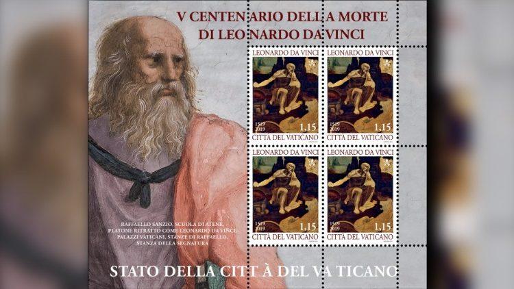 O Departamento Filatélico do Vaticano criou um Bloco Comemorativo em miniatura com quatro selos de 1,15 euros, representando São Jerônimo, cuja pintura está preservada na Pinacoteca dos Museus do Vaticano