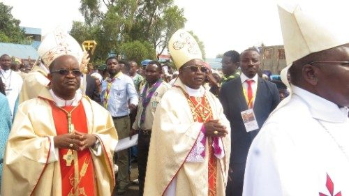 2019.05.20 Republica democratica del Congo : Mgr Willy Ngumbi, nuovo vesco di Goma