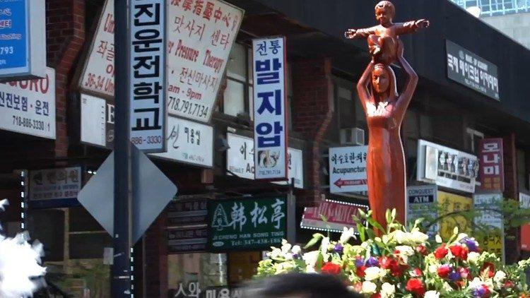 La Vierge de Sheshan, près de Shanghaï