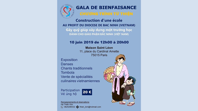 Thông tin chương trình gây quỹ 10/6/2019