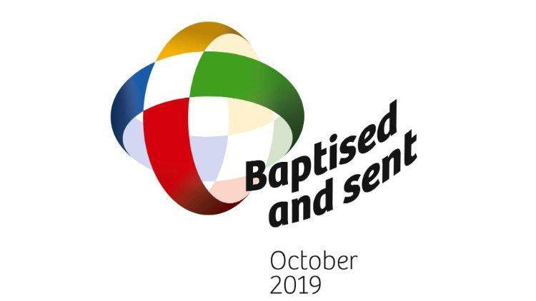 Logo Tháng truyền giáo ngoại thường vào 10/2019