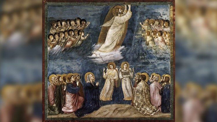 The Ascension of Jesus, by Giotto