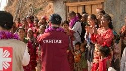 Caritas is often the first on the scene to help, and stays on when other humanitarian agencies have left
